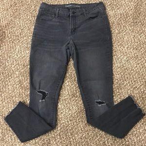Old Navy Black Rockstar Jeans